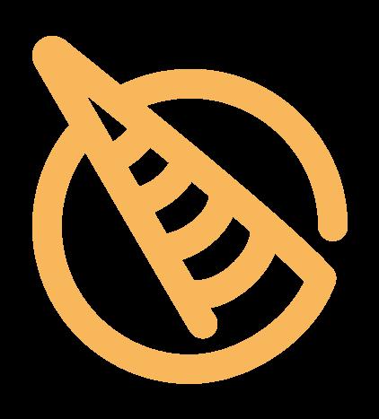 La Biscornue : Le logotype